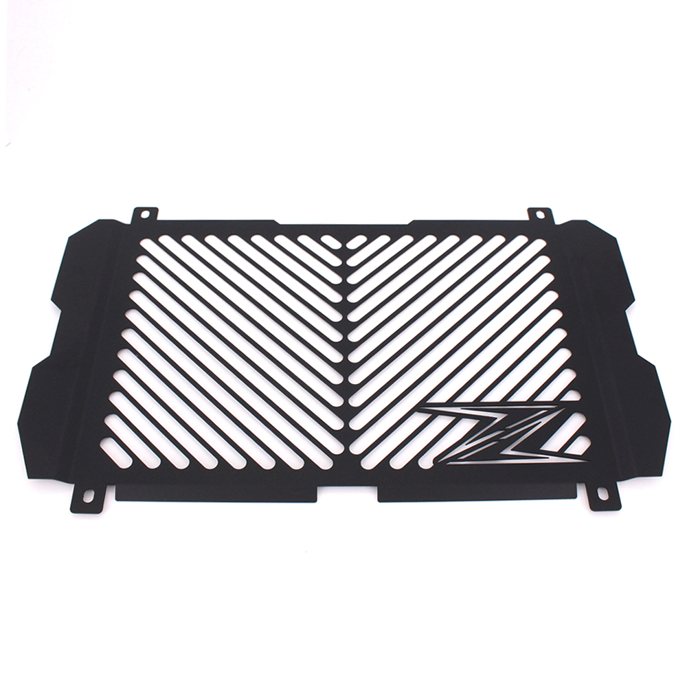 Black Motorcycle Accessories Radiator Guard Protector Grille Grill Cover For KAWASAKI Z900 Z 900 Free shipping<br>