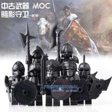 2017 New Medieval Castle Knights The Lord of the Rings The Hobbits Figures with Armor Weapon Building Blocks Bricks Toys Gifts