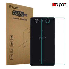 for sony Z3 mini 0.26mm 9H 2.5D Retail Box Back Tempered Glass For Sony Xperia Z3 Compact Z3 mini Screen Protector Film