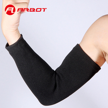 High Elastic Breathable Elbow Knee Pads Sports Basketball Absorbent Protective Geer 2017 Men Running Black Elbow Sports Goods