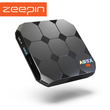 Zeepin A95X R2 Android 7.1 TV Box Amlogic S905W 2.4GHz WiFi Satellite Receiver 4K 3D H.265 TF Card Media Player(China)