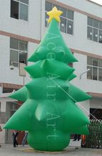 10H  huge commercial airblown inflatable christmas tree for decoration  holiday events