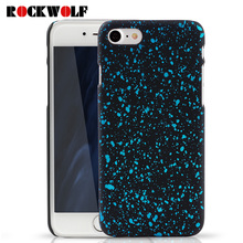 New Style 3D Cover Three-dimensional Stars Ultrathin Frosted Starry Sky Phone Case for iPhone 5 5S SE 6 6S 7 Plus Hard PC Cases(China)