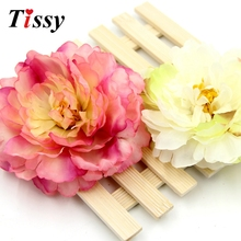 10PCS 4.8inch(12cm) Can Mix 8 Colors DIY  Big Size Peony Artificial Silk Flowers Head For Home Wedding Party Decoration Flowers