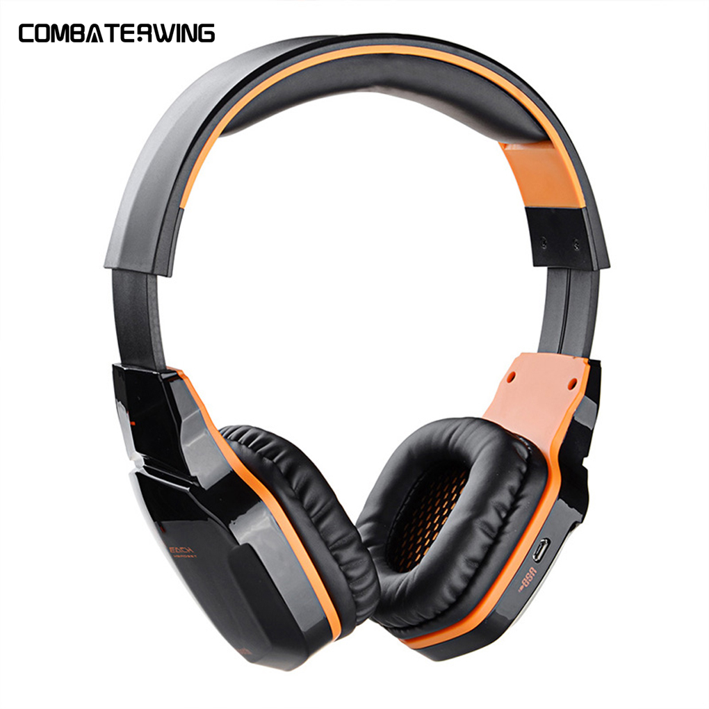 KOTION EACH B3505 Wireless Earphone Stereo Gaming Headphone Headset Support NFC with Mic<br>