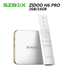 Zidoo H6 PRO Android 7,0 ТВ коробка 4 К 10Bit HDR Allwinner H6 2 ГБ + 16 ГБ 802.11AC WIF 1000 м LAN Dolby Digital DTS-HD Smartcolor3.0(China)