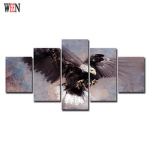 Eagle Stretched Its Wings Modern Print Canvas Painting Wall Art Home Decoration For Room Decoration Wall Artwork Christmas Gift