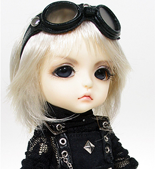 flash sale!free shipping!free makeup&amp;eyes!top quality bjd 1/8 baby doll lati  Lea Special Limited black cool rock hot toy kids<br><br>Aliexpress
