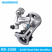 SHIMANO Bicycle Derailleur Bike Parts RD-2300 dial 8 speed 16 speed road car folding legs Bike Rear Derailleur(China)
