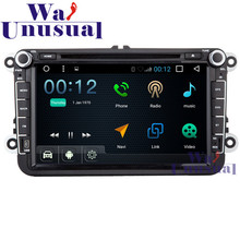 "8"" Android 6.0 Auto GPS Navigation for VW Universal Radio Stereo with Wifi BT DVR Mirror link Quad Core 16G TV 3G 1024*600 Maps"