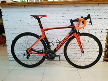 2017 Cipollini nk1k Carbon Road Complete Bike Bicycle with 5800/ R8000 Groupset 38mm carbon wheelset(China)