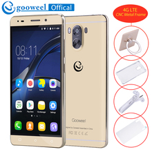 New Gooweel G9 4G Smartphone Android 7.0 MTK6737 Quad core 64bit 5.5inch IPS Screen mobile phone 2800mAh 13MP+8MP GPS Cell phone(China)