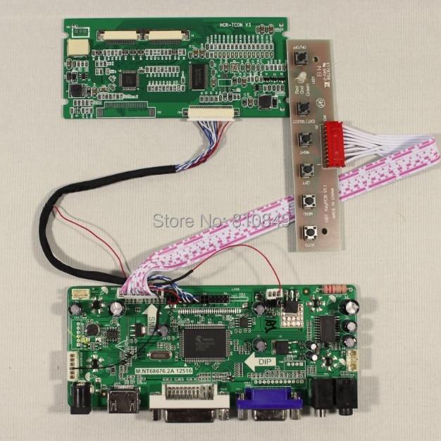 HDMI+DVI+VGA+Audio controller board+Tcon board work for 7inch TM070SDH01 800*600 Lcd screen<br>