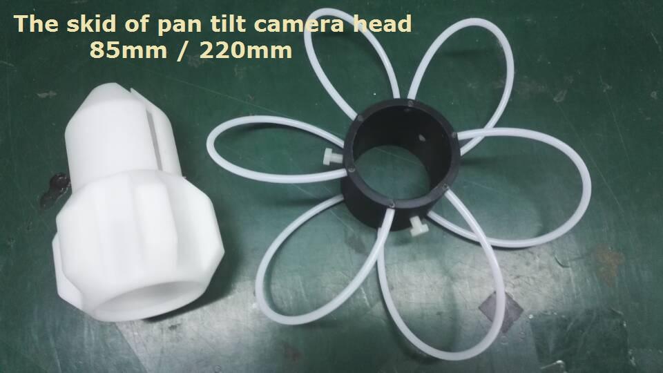 pan tilt camera head skids