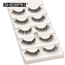 5 Pairs Fake Lashes Makeup False Eyelashes Beauty Eyelashes Make Up Eyelash Set Winged Fake Eyelashes Free Shipping