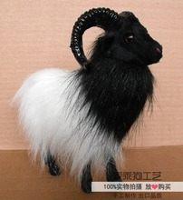 simulation cute goat 20x7x19cm model polyethylene&furs goat model home decoration props ,model gift d777(China)