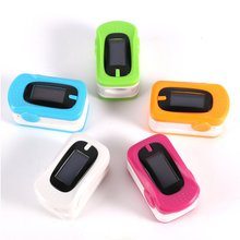 New Finger Pulse Oximeter Blood Heart Rate Oxygen Saturation Waveform Oximetro Monitor Medical Equipment for Health Care