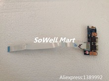 Original laptop IO board for Acer E1-531 E1-571/571G P253 Laptop Q5WV1 / Q5WS1 LS-7911P USB board with cable