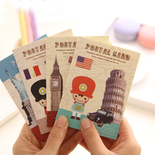 10Pcs/Set London British Soldier Vintage Diary Book Notebook Notepad Memo Pad School Office Kids Students Gift H0212(China)