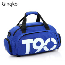 Gym Bags T60 Waterproof Outdoor T90 Ginko Women/Men luggage/travel Bag/ Backpack Multifunctional Sport Bagbolsa impermeable