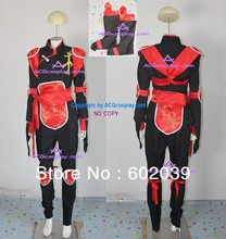 Inuyasha Sango cosplay costume include boots cover GOOD quality ACGcosplay(China)
