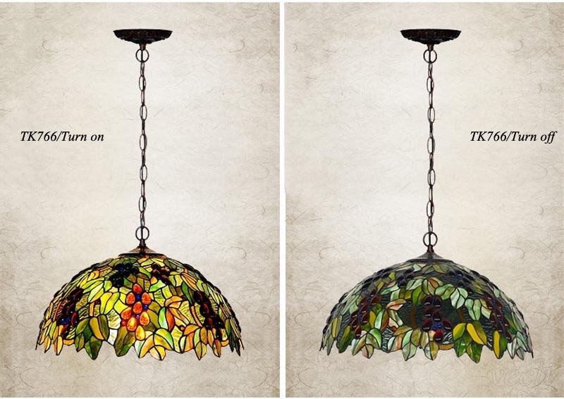 Tiffany hanging lamp light (14)