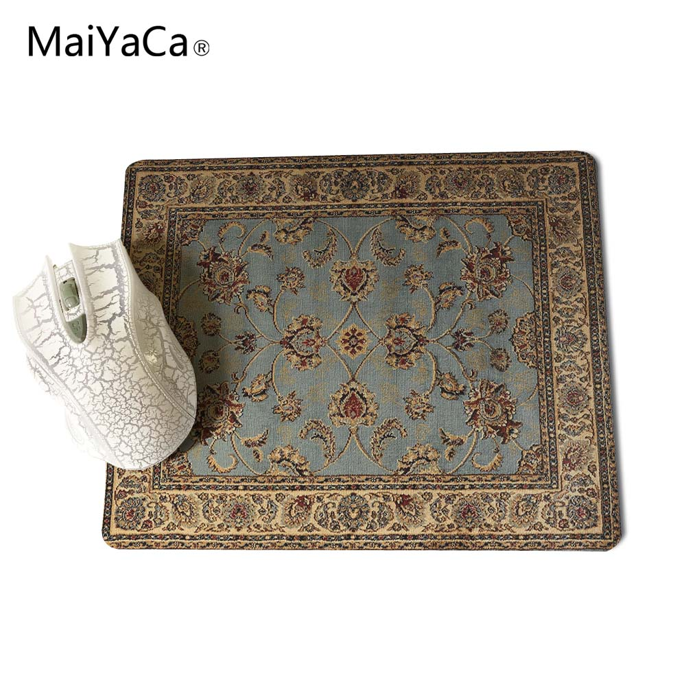 MaiYaCa NEW Customized Supported Fashion Design Cool Persian Rugs Mouse Mats Anti-Slip Rectangle Mouse Pad 250X290 MM 4