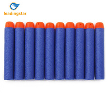 LeadingStar 400pcs Soft Hollow Hole Head Blue 7.2cm Refill Darts Toy Gun Foam Safe Sucker Bullet For Boy Childs Kid zk30(China)