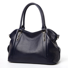 Fashion Women Handbag natural cow leather Bag New First Layer cowhide Shoulder Bags Vogue Women Messenger Bags Hot Tote(China)