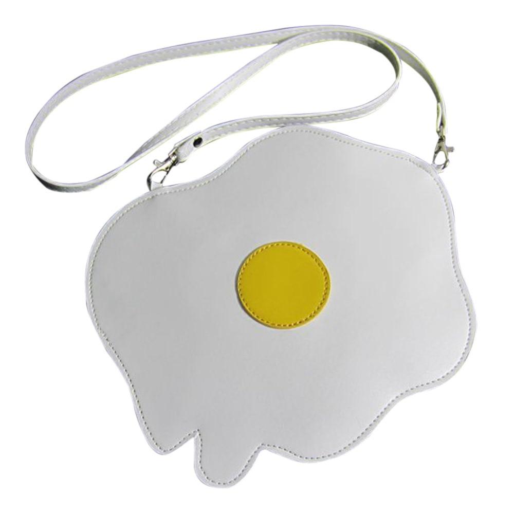 Hot Sale Mini Women PU Leather Shoulder Bag  Cross Body Bag Lovely Fried Egg Shape Women Messenger Bags Small Crossbody Bag<br><br>Aliexpress