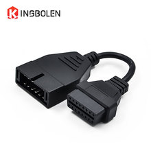 12 PIN For GM for Daewoo Adapter to 16Pin Factory Price OBD Connector Diagnostic Cable 12pin OBD2 cable(China)