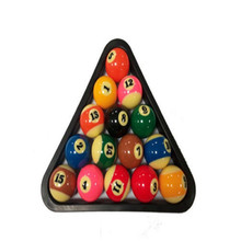 "Best Deal Billiards 2-1/4"" 15 Ball Pool Rack Table Ball Combo / Diamond Rack Plastic Black Snooker & Billiard Accessories(China)"