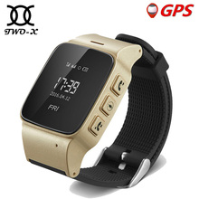 Elderly Android Smart Watch D99 Google Map SOS Wristwatch Personal GSM GPS LBS Wifi tracker Safety Anti-Lost Locator pk D100
