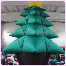 Cheap 6M(20') Giant Outdoor Christmas Decoration Inflatable Christmas tree,for Christmas event,party decoration