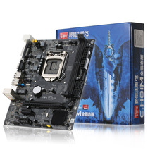Colorful C.H81M plus V24A Motherboard Mainboard Systemboard for Intel H81/LGA1150 DDR3 SATA3 USB3.0 Board for Desktop Computer