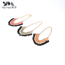 YouMap Fashion Bohemia Knitting Necklace Choker Collar Maxi Jewelry For Women Statement Necklaces D17R9C