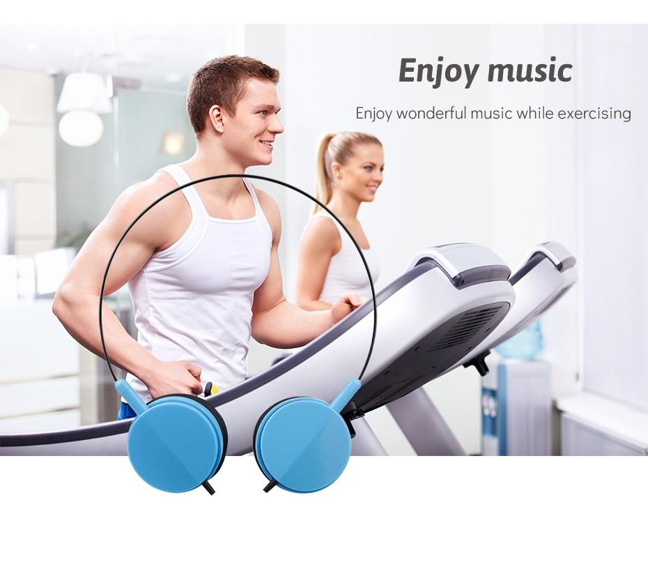 Wired Headphone Over Ear Earmuffs Mini Stereo Music Headphone Sport Headphone For Huawei Mobile Phone (3)