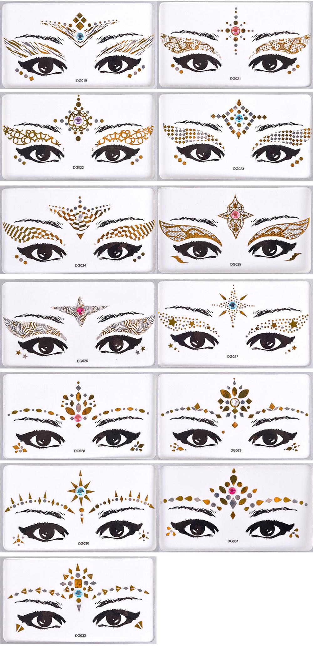 Eye Face Tattoo (2)-1