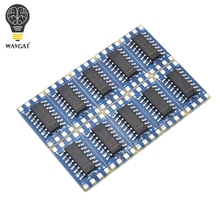 Free shipping 10PCS The mini RS232 MAX3232 turn TTL level conversion board serial conversion module.We are the manufacturer