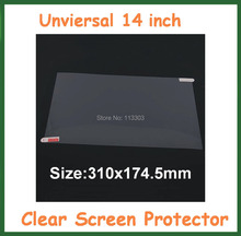 10pcs Universal Ultra Clear LCD Screen Protector 14 inch Protective Film for LCD Monitor Laptop Notebook PC No Retail Package(China)