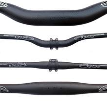 Buy FCFB mountain handlebar MTB 3K matt + glossy sticker black carbon handlebar flat bar rise bar bike parts cycling parts for $15.99 in AliExpress store