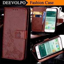 DEEVOLPO Leather Coque Case For Apple iphone X 8 7 6 6S Plus 5 5S SE 4 4S Cover For ipod touch 6 Wallet Case pouch Bag Capa DP61(China)
