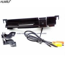 For Nissan Tiida Hatchback trunk switch camera CCD HD wired car parking rear view camera f car reverse rearview Waterproof(China)