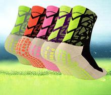 YWYD Unisex New Football Socks Anti Slip Soccer Socks Men Good Quality Women Cotton The Same Type As The Trusox