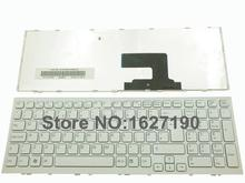 NEW Brand UK Replacement Laptop keyboard for SONY VPC-EE Series WHITE FRAME WHITE Repair Notebook Computer Keyboards