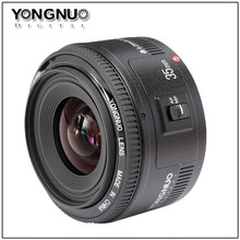 Yongnuo 35mm lens YN35mm F2.0 lens Wide angle Fixed dslr camera Lens For canon 600d 60d 5DII 5D 500D 400D 650D 600D 450D 60D 7D(China)