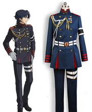Seraph of the End Vampire Extermination Unit The Moon Demon Company Guren Ichinose Uniform Anime Cosplay Costume(China)