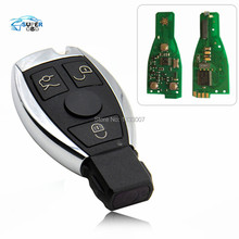 2017 New 3 Buttons Smart Remote Key for Mercedes for Benz with NEC Chip 315/433MHz Optional Supports Car Models After Year 2000