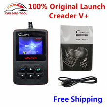 New Arrival Original Launch Creader V+ OBDII Auto Code Scanner Creader 6+ V Plus Support JOBD OBD Same As Creader VI Plus