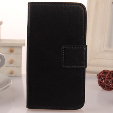 LINGWUZHE Cell Phone Flip PU Leather Case With Card Slot Wallet Cover For Medion Life X5520 MD 99607 5.5''